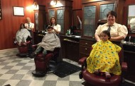 Get a Trim at the Harmony Barber Shop in the Magic Kingdom